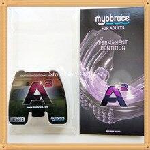 Myobrace для взрослых A2 Ортодонтические зубы тренер appliance/mrc ортодонтическими аппаратами A2/mrc зубы тренер A2 передней Скученности