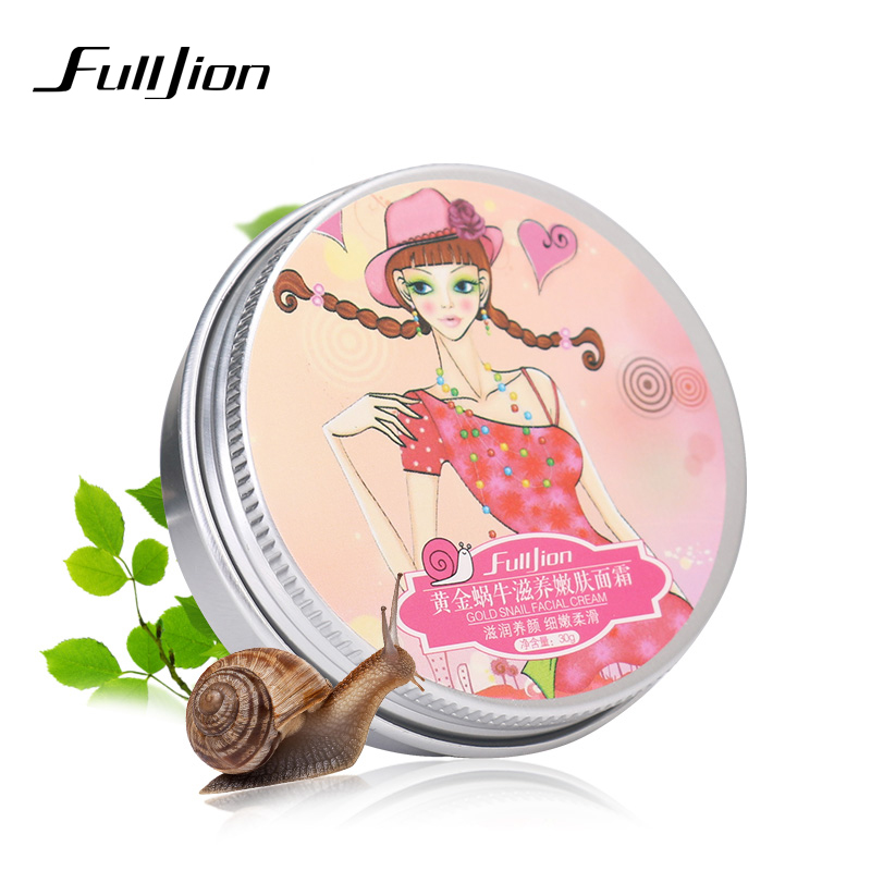 Buy 1Pc Fulljion Snail Face Cream remove Dark Circles Wrinkles Anti Aging Moisturizing Acne Whitening For Face Eyes Skin Care Makeup for $1.39 in AliExpress store