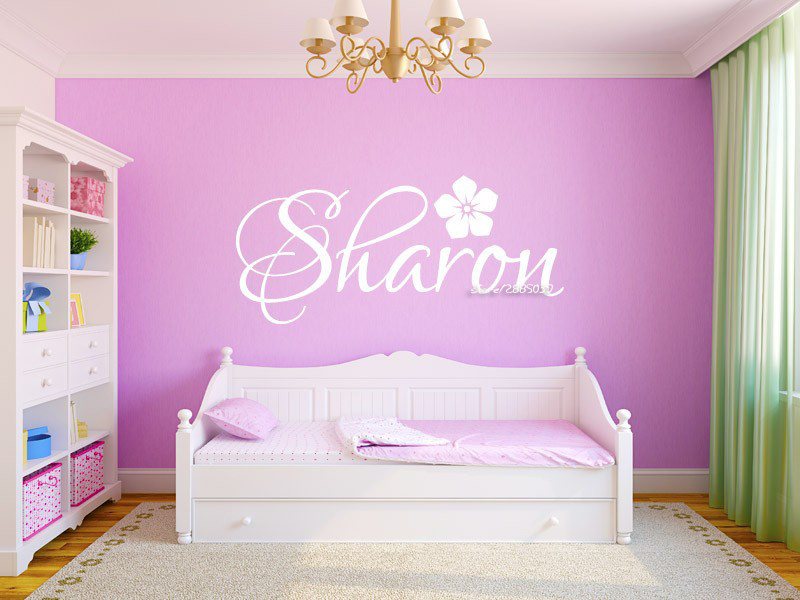 Online shop creative design crown grote frame muurstickers voor kid