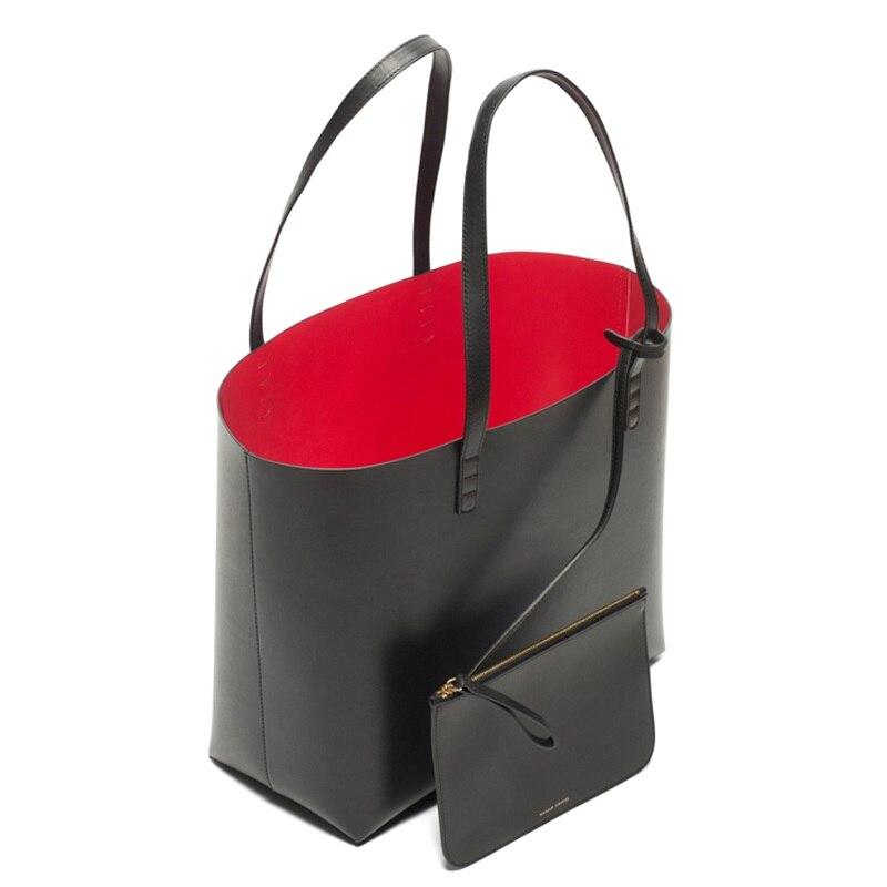 Mansur Gavriel Famous Designer Brand Handbags Women Tote Large Bucket Luxury Wit