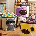 Barris De Armazenamento de Lona de algodão Sacos de Fraldas Do Bebê Brinquedos Do Bebê Bolsa Saco de Armazenamento de Brinquedos MKA095 -- PT50