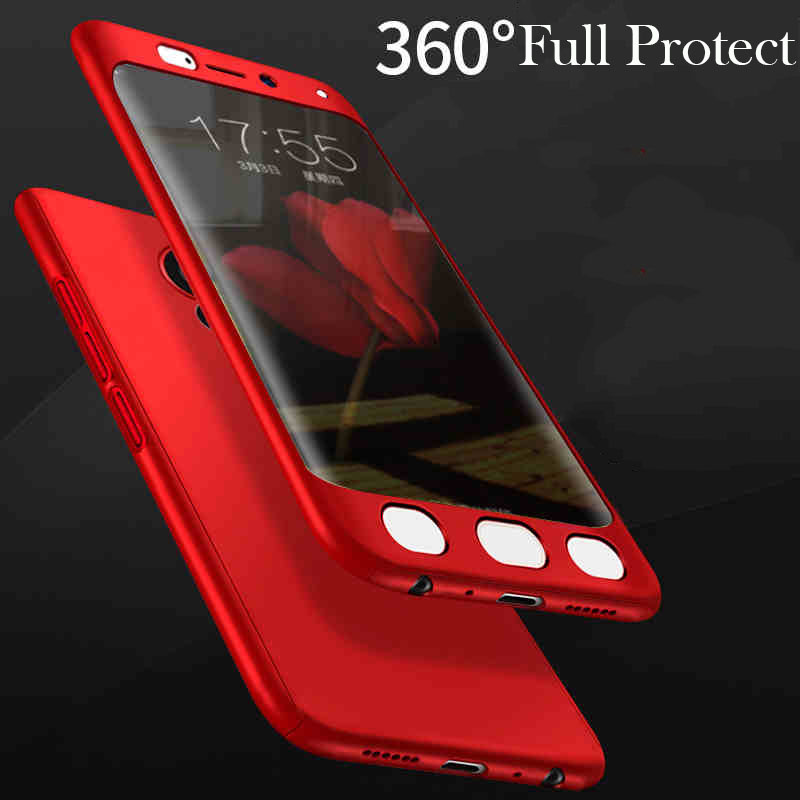 360 Degree protection Shockproof Back Cover Cases for VIVO X Play6 Matte Hard plastic Full Body phone For X Play 6 Cover Bag