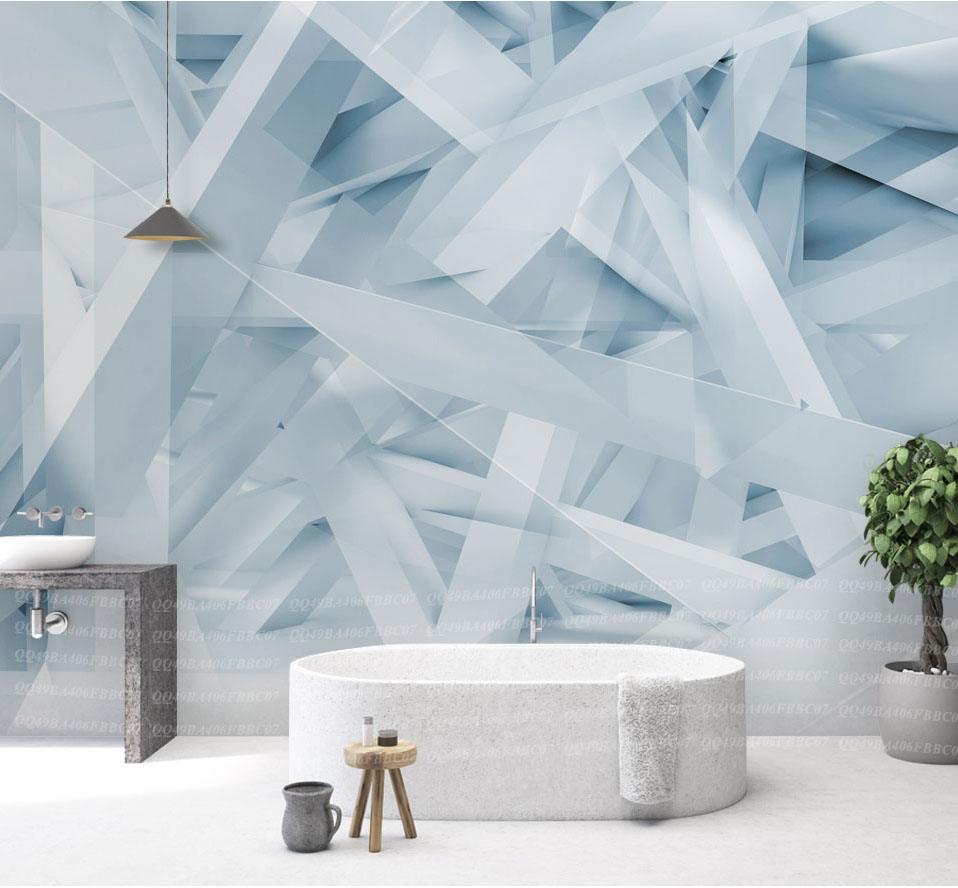 Large Papel Mural Abstract Geometry Wallpaper 3d Wall Photo Mural for Living Room Sofa Background 3d Geometry Wall paper Murals custom 3d photo wallpaper mural nordic cartoon animals forests 3d background murals wall paper for chirdlen s room wall paper