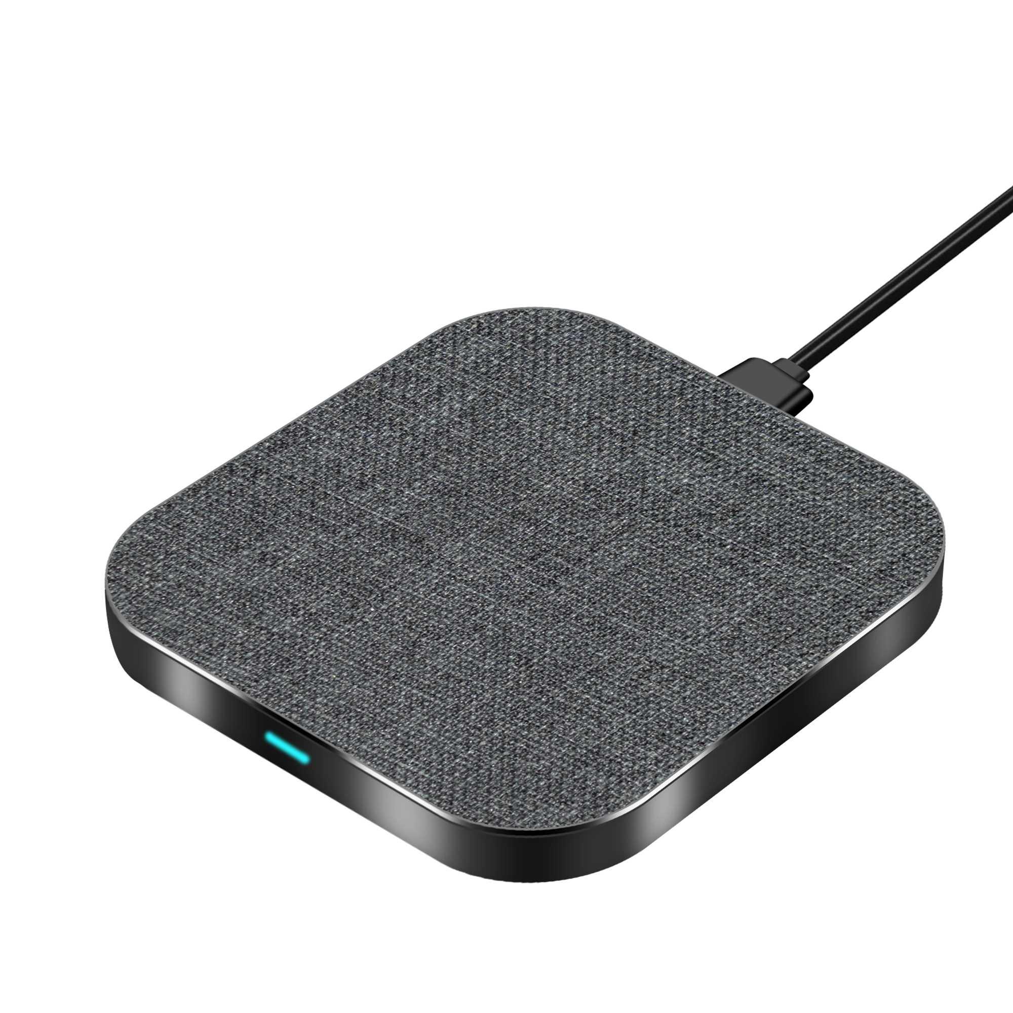 Kusdo 10W Qi Wireless Charger untuk iPhone X XS Max XR 8 Plus Cepat Pengisian untuk Samsung S8 S9 plus Catatan 9 8 USB Ponsel Charger Pad