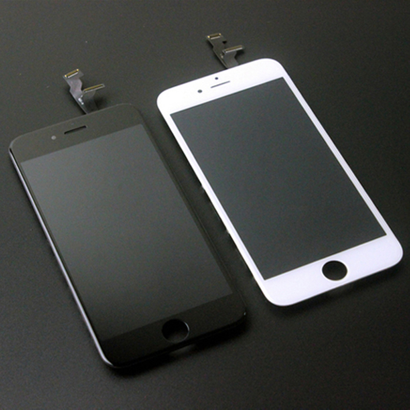 New Lcd For Iphone 6 Screen Black White For Iphone 6 Display Touch Screen Digitizer Assembly Mobile Phone Lcd Screens Aliexpress