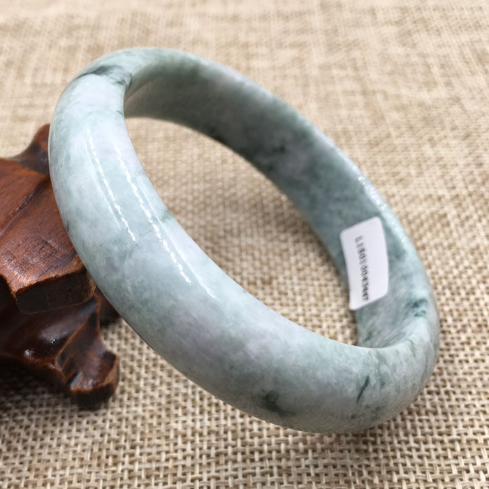57~63mm Certified Grade A Natural Green Jadeite stone Gems Bracelet Bangle selling jewelry xinjiang hetian jadeite jadeite overlord pendant natural jadeite men 18 arhat necklace pendant