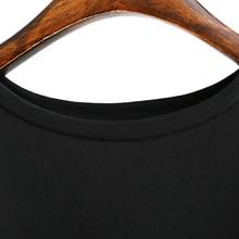 Summer Long T shirt Women Black T-shirt Sexy SI01