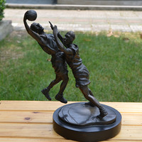 Латунь статуя украшения боевые виды спорта цифры корабли домашнего интерьера ювелирные бизнес новоселье подарок украшения Навидад