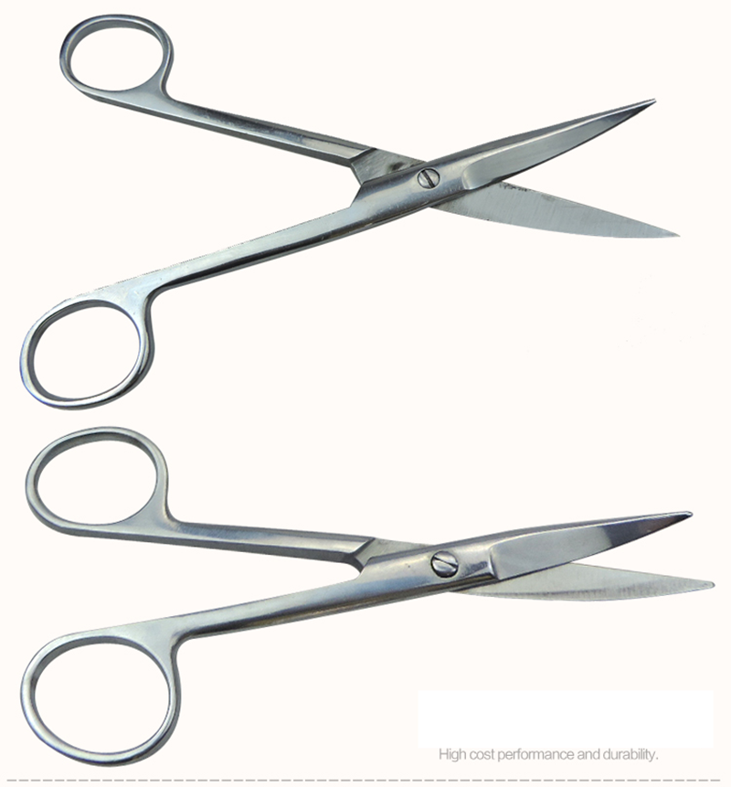 Surgical Scissors Stainless Steel Veterinary Tools For Pet Livestock Cattle Sheep Anatomy Equipment
