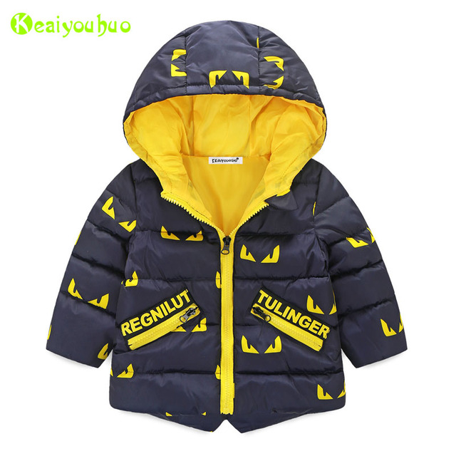 6e0bc7737 KEAIYOUHUO Children Little Monsters Jackets 2017 Autumn Winter ...
