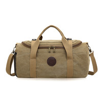 Top Large Capacity Canvas Men Travel Bags Carry On Luggage Bags Men Duffel Bags Travel Tote