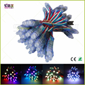 50pcs LED Lighting Modules 12mm led lumineuse luces DC5V full color WS2801/6803 pixel lights waterproof rgb led module strings