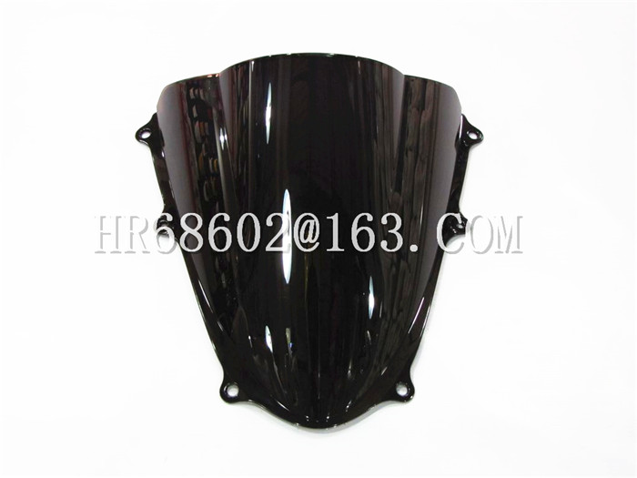 For Suzuki GSXR 1000 R K9 2009 - 2016 2010 2011 2012 2013 2014 2015 Black Windshield WindScreen Double Bubble GSXR1000 R GSX