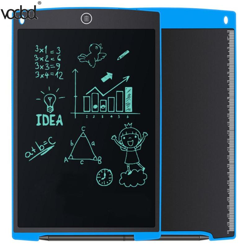 12inch LCD Writing Tablet Digital LCD Handwriting Drawing Tablet Graphic Electronic Tablet Ultra-thin Board Notepad Mouse Pad 8 5 inch frog handwriting tablet board lcd writing tablet graphic drawing board for kids xxm8