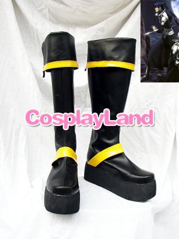 Novelty & Special Use Intellective D Gray-man Yu Kanda Long Cosplay Boots Shoes Anime Party Cosplay Show Boots Custom Made For Adult Men Shoes Unequal In Performance