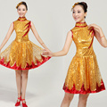 Dance Modern  clothes female national costume clothes paillette costume