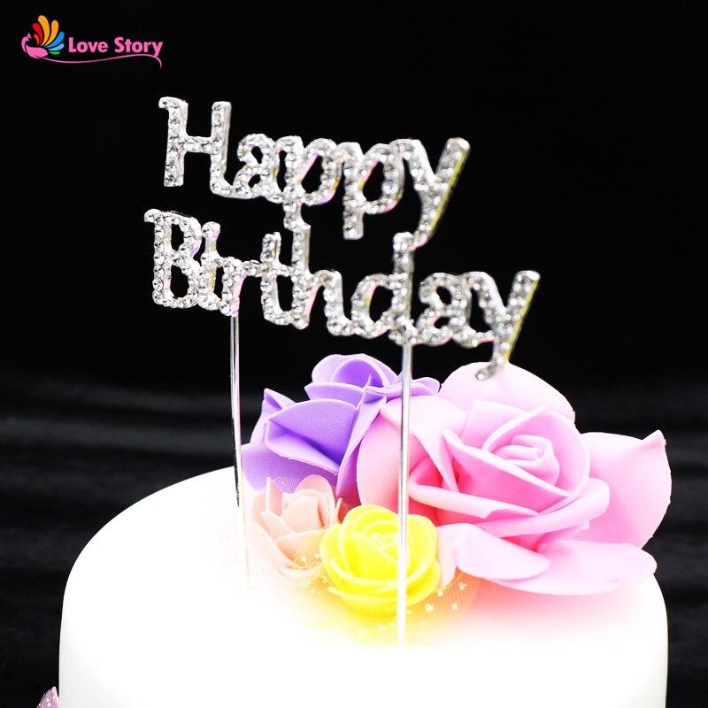 1pcspack Happy Birthday Personalized Simulation Diamonds Birthday