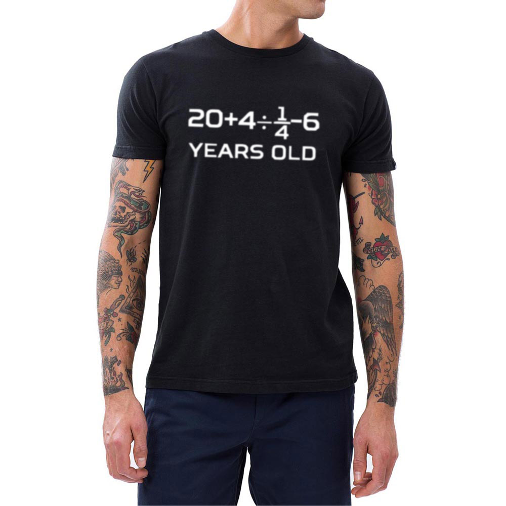 Mens 30 Years Old Algebra Equation 30th Birthday T Shirts Men Humour Tee