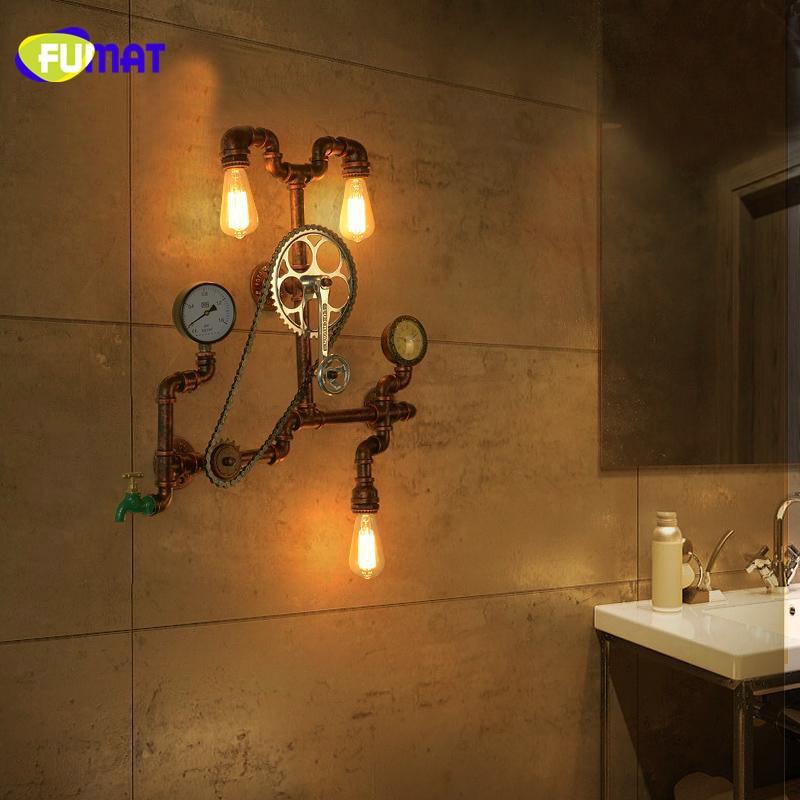 Gear Wall Lamps 3