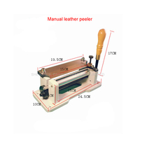 1pcs Rushed Top Fashion Manually Leather Skiving Machine/industrial Heavy Duty Sewing Machine Paring