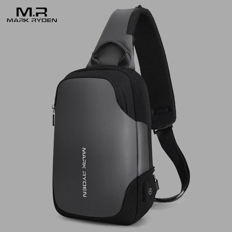 Mark Ryden nouveau sac à bandoulière Anti-vol étanche pour hommes sac à bandoulière pour hommes de 9.7 pouces Ipad sac à bandoulière pour hommes
