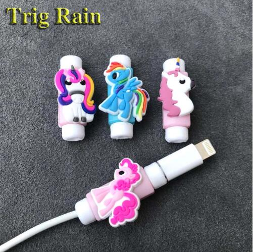 Spiral Cable protector Data Line Silicone Bobbin winder Protective For iphone Samsung Android USB Charging earphone Case Cover