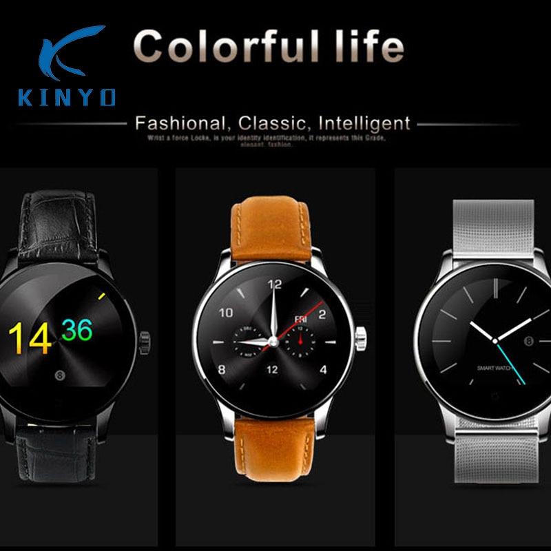 Здесь можно купить  Kinyo Original Smart Watch Track Wristwatch MTK2502 Bluetooth Heart Rate Monitoring Pedometer Dialing For Android IOS Phones  Бытовая электроника