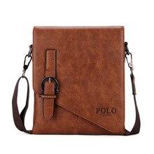 Vintage Genuine Stylish Modern Leather Message Men Handbag Designer Handmade Classic Man Messenger Shoulder Bag