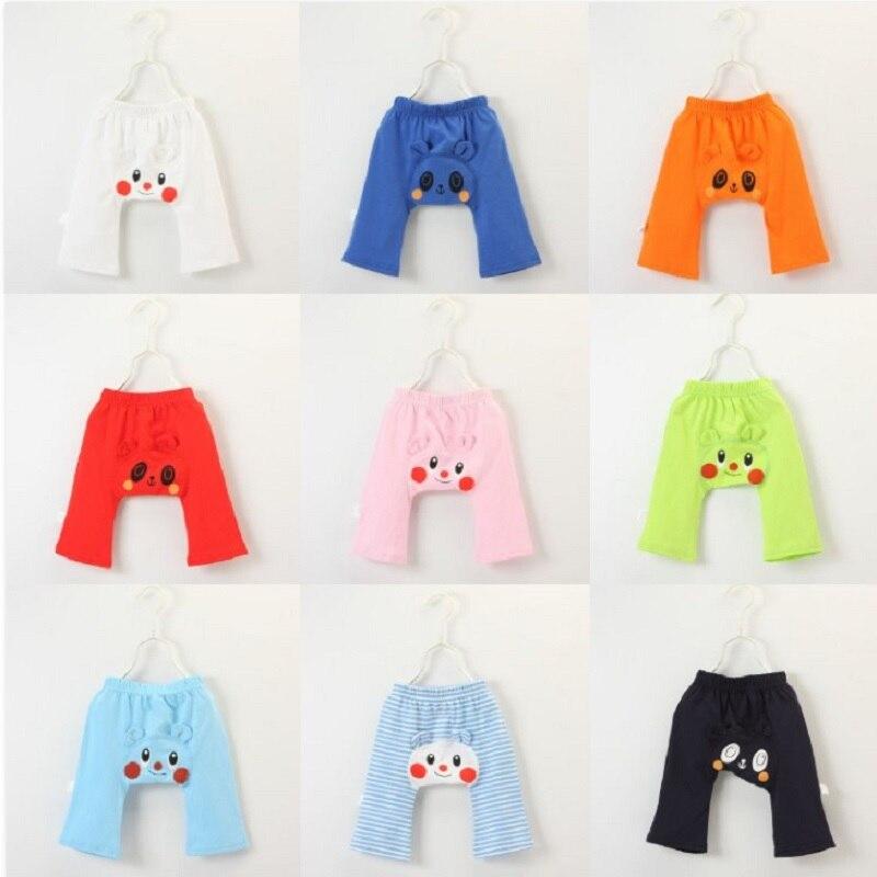 Diaper-Cover Pant Trousers Girl Newborn Baby Children 100%Cotton Bear Cartoon Britches