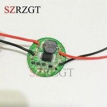 1 шт. Вход 3,7 V~ 30V 27 мм драйвер для Cree светодиодный 1~ 3 шт. 10 Вт XML T6/U2 XM-L2/U2 вспышка светильник 12 V/24 V Батарея автомобильный светильник