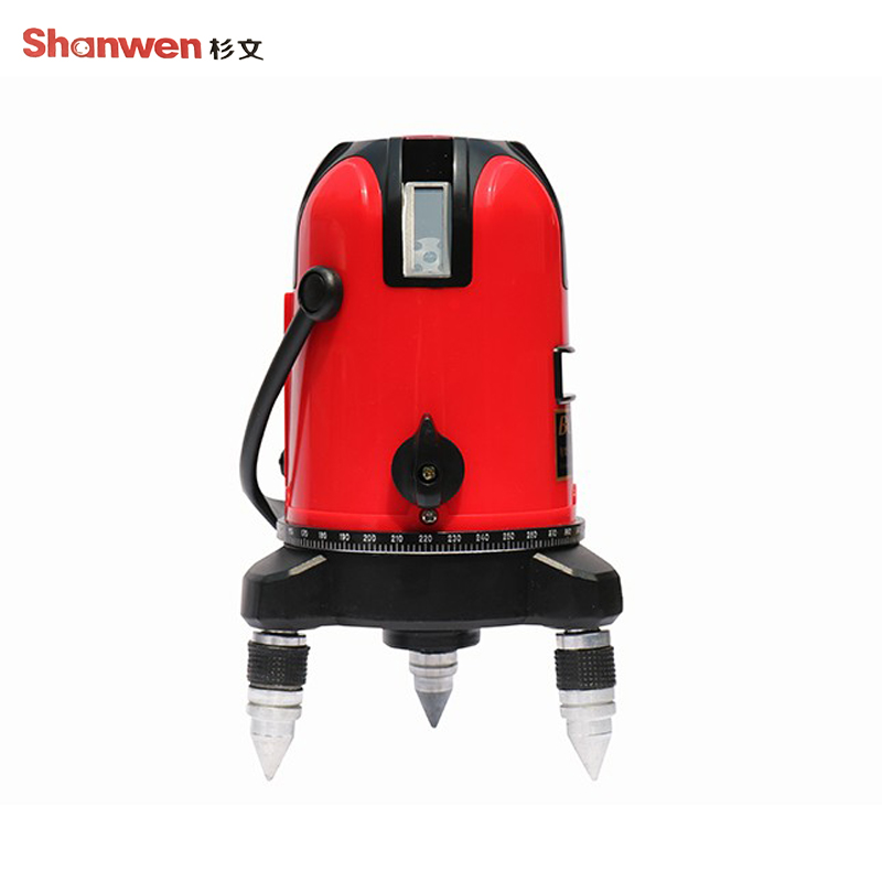 Laser Infrared Level 5 Lines 6 Points 360 Degree Laser Level Tools Rotary Cross Laser Line Leveling laser cast line instrument marking device 5 lines the laser level
