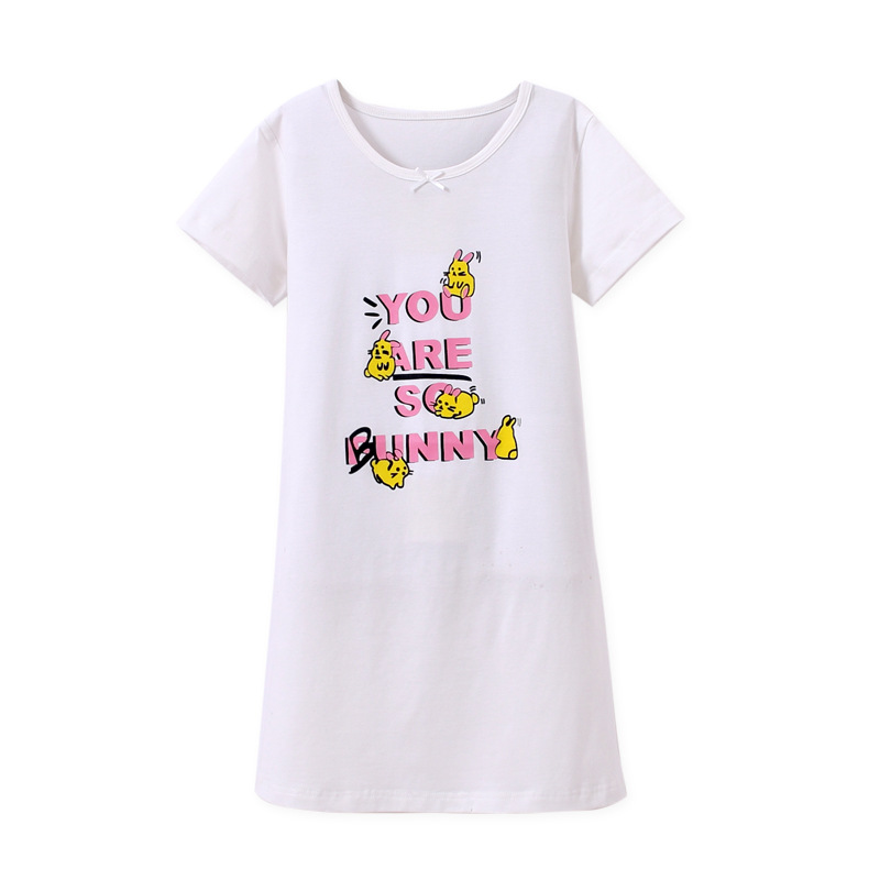 95% Cotton Girls Sleep Wear Girls Nighties Night Dress For Kids Baby ...