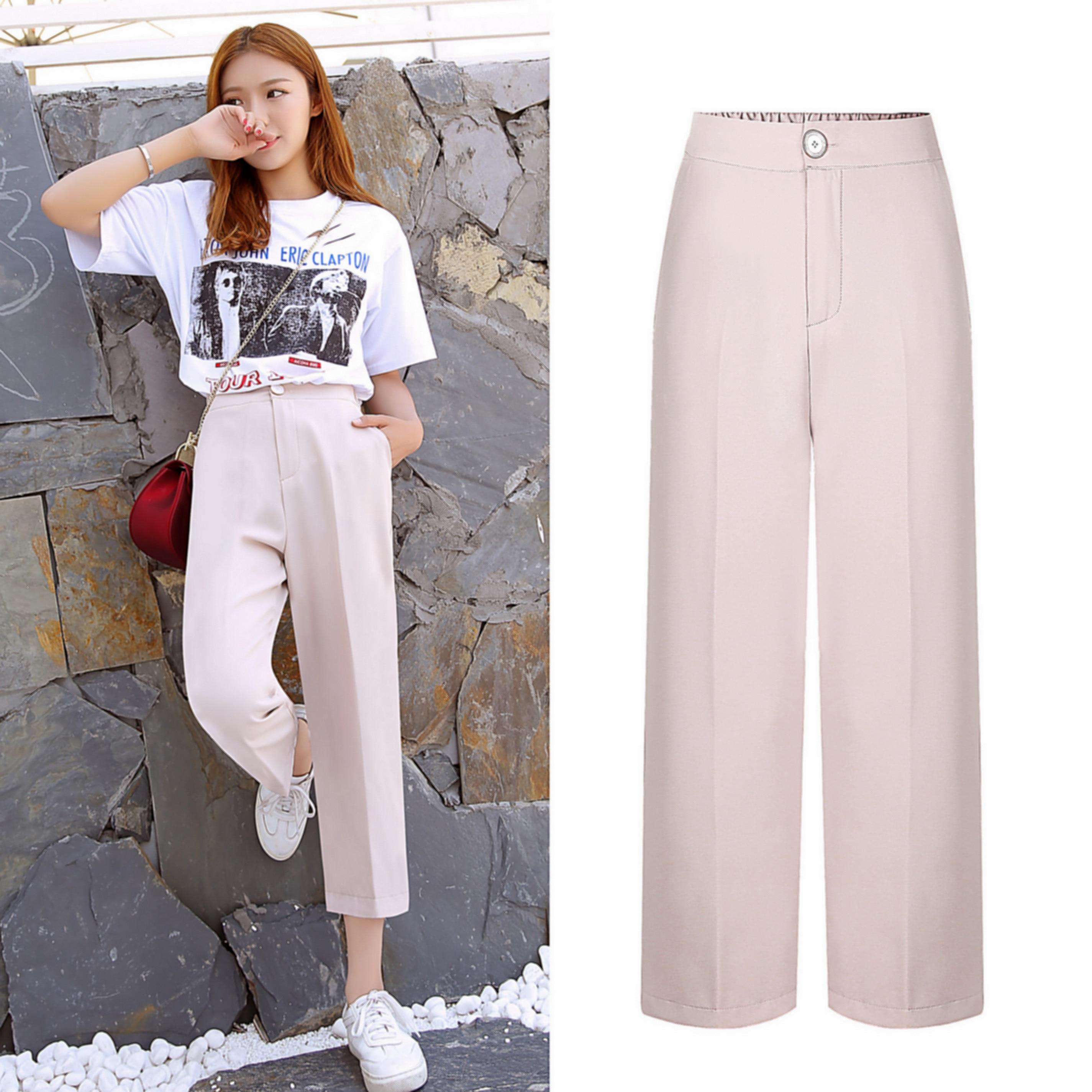 صعق هندسة عقيدة korean pants female style