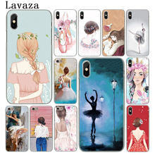 Lavaza Ballet skirt Girl dancing swan flower Phone Cover Case for Apple iPhone XS Max X XR 6 6S 7 8 Plus 5 5S SE 5C 4S 10 Cases(China)
