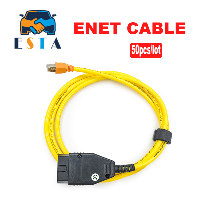 Audacious 50pcs/lot New Esys Data Cable For Bmw Enet Ethernet To Obd Interface E-sys Icom Coding For F-serie Diagnostic Cable Dhl Shipment To Be Distributed All Over The World Diagnostic Tools Back To Search Resultsautomobiles & Motorcycles