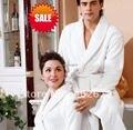( 1 pçs/lote ) Mens banho, Vestes mulheres, Tamanho m,L Xl, 100% de banho de algodão, Drssing vestido, 4 cores, Espessura macia e Unisex