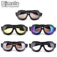 Adult Motorcycle Goggles Windproof ATV Off Road Sports Eyewear for Motorbike Dirt Bike Racing Motocross Goggle Folding Glasses