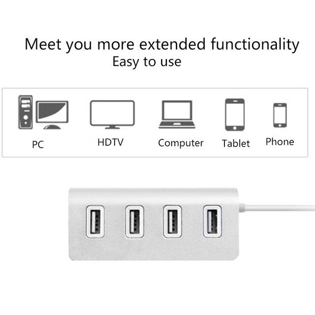 USB HUB 4 Port High Speed 4