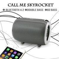 CHYI Mini Bluetooth Speaker Portable Wireless Outdoor FM Radio Boombox With TF Card Slot Audio Soundbar For Bathroom Car Woofer
