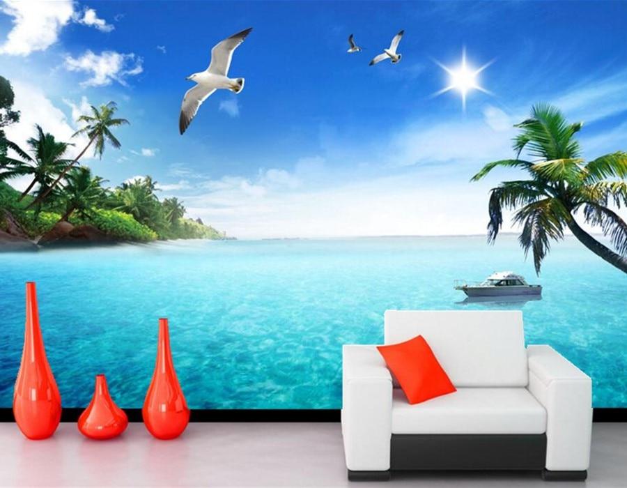 Aliexpress Com Buy Large Custom Mural Wallpapers Living: Popular Wall Wallpaper Designs-Buy Cheap Wall Wallpaper