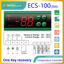 7 selecteerbare pre-set temperatuur controles met 2 sensoren, vervangen Dixell XR04CX, ELIWELL ID961 en Carel IR33 thermostaat(China)