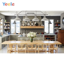 Yeele Wallpaper Kitchen Dining Table Tidy Photocall Photography Backdrops Personalized Photographic Backgrounds For Photo Studio