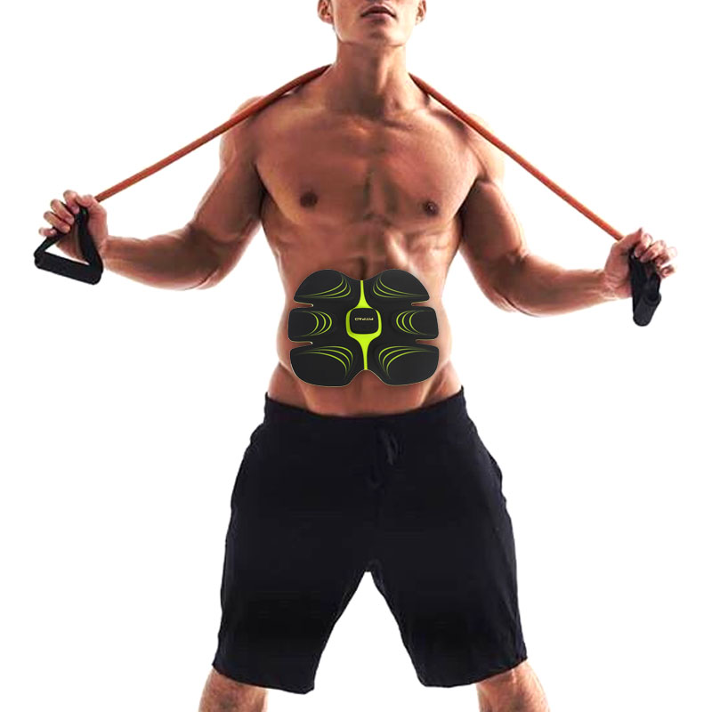 Multi-Function  Abdominal exerciser Device Hous Abdominal Muscles Intensive Training Electric Weight Loss Slimming Massager 30 multi function smart ems abdominal muscle stimulator exerciser trainer device muscles training weight loss slimming massager 30
