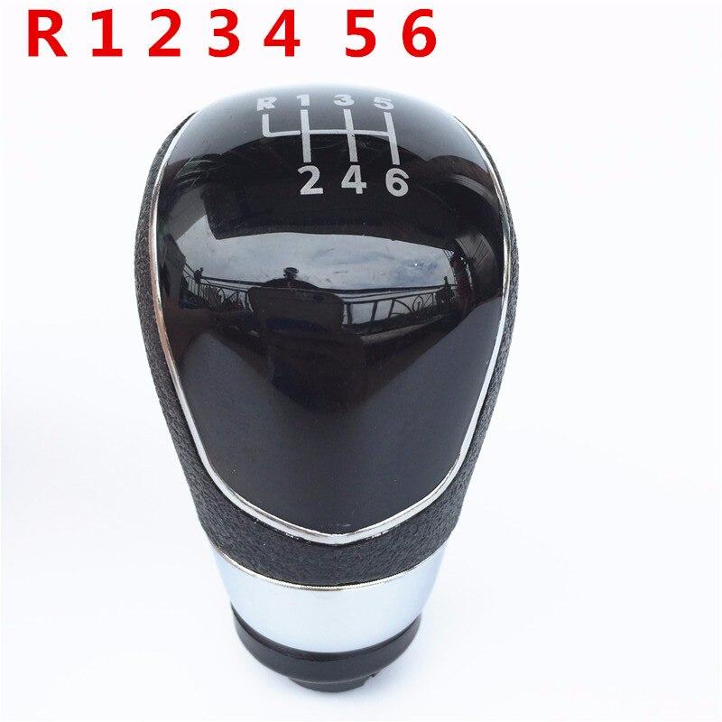 5//6 geschwindigkeit Auto Styling Manuelle Schaltknauf Gamasche Boot Abdeckung Fall Für Ford Focus 2 MK2 05-11 //C-Max 07-10//Fiesta Kuga 08-12