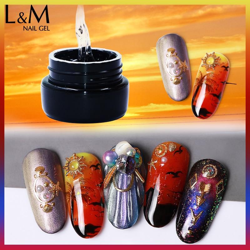 Lvmay κολλώδης κόλλα Gel Πολωνικά 6 - Τέχνη νυχιών - Φωτογραφία 5