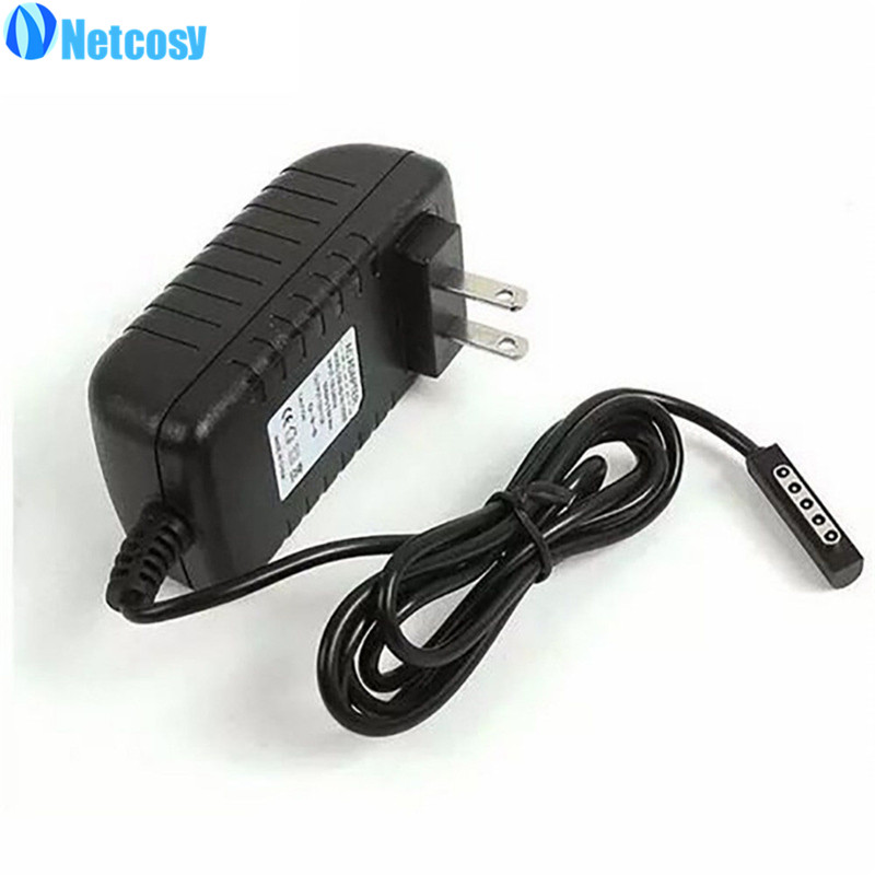 Netcosy 12V 2A AC Charger Adapter Power Supply for Microsoft Surface RT Tablet
