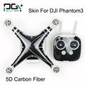 PGY for DJI Decal /Stickers skin Phantom 3 5D carbon fiber Cover Phantom3  PGY Wrap accessories Quadcopter drone parts