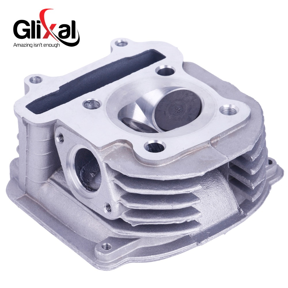 GY6 160cc Chinese Scooter Engine 58 5mm High Performance Cylinder Head Assy With Valves 4T 157QMJ