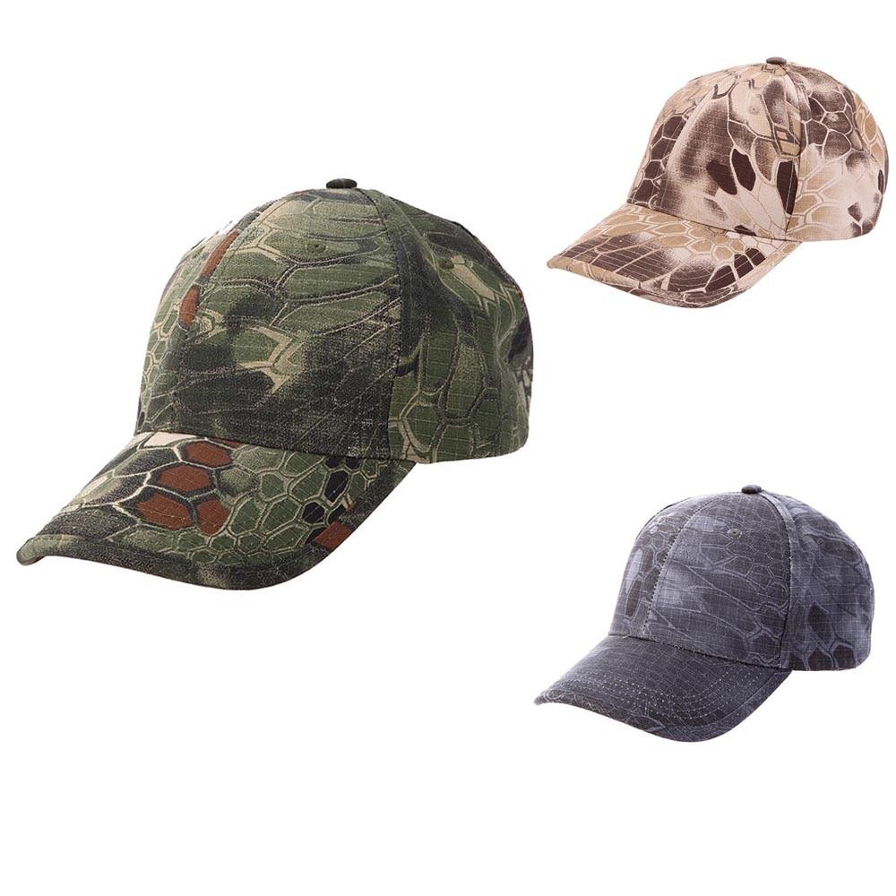 Tactical Camouflage Hat Boa Grain Baseball Cap Bionic Outdoor Kryptek Typhon Mandrake Hunting Camping Hiking Fishing Peaked Cap