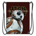 2016 New Stylish Star Wars Drawstring Backpack Boy School Bags Shoes Bag With 2 String